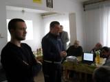Chełm. Policjanci rozmawiali z bezdomnymi o odblaskach