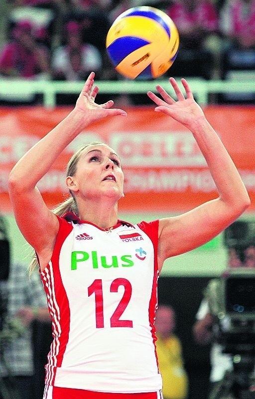 Dobra gra Mileny Sadurek pomogła urwać seta Brazylijkom
