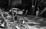 Tragedia podczas Rajdu Śląska. Samochód uderzył w ogrodzenie, w wypadku zginęła pilotka
