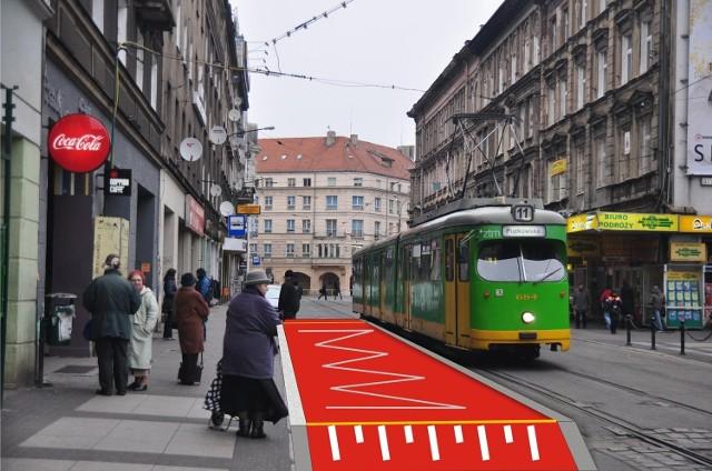 """Tak ma wyglądać przystanek """"wiedeński"""" na ulicy Gwarnej"""