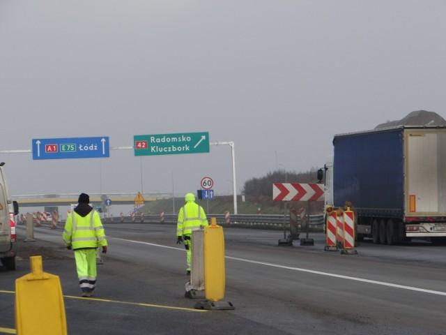 Węzeł na autostradzie A1 w Radomsku oddany do użytku