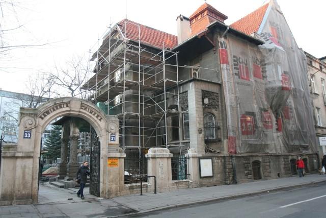 Na dwa lata Willa Leopolda Kindermanna wyłączona jest z użytku