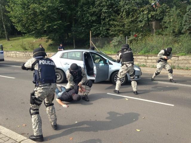 Akcja policji w powiecie lubańskim i zgorzeleckim