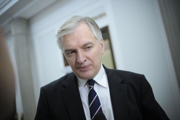 Gowin: Premiera nie można zmuszać,  ale każde grono ze Schetyną jest mocniejsze