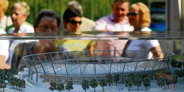 Poliwęglanowy dach stadionu będzie największą tego typu konstrukcją w Europie
