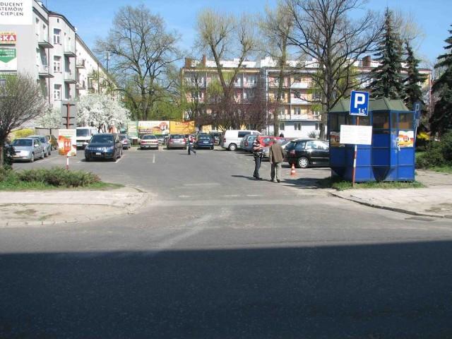 Wjazd na parking został otwarty