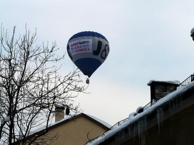 Słowacy nawet z nieba reklamują swoje ośrodki turystyczne pod nosem Polaków