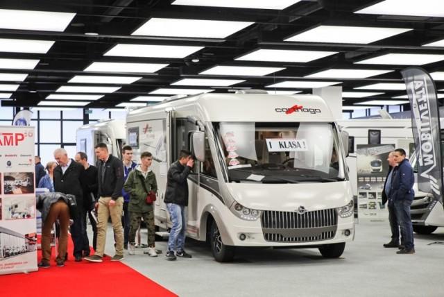 Caravans Salon podczas Poznań Motor Show