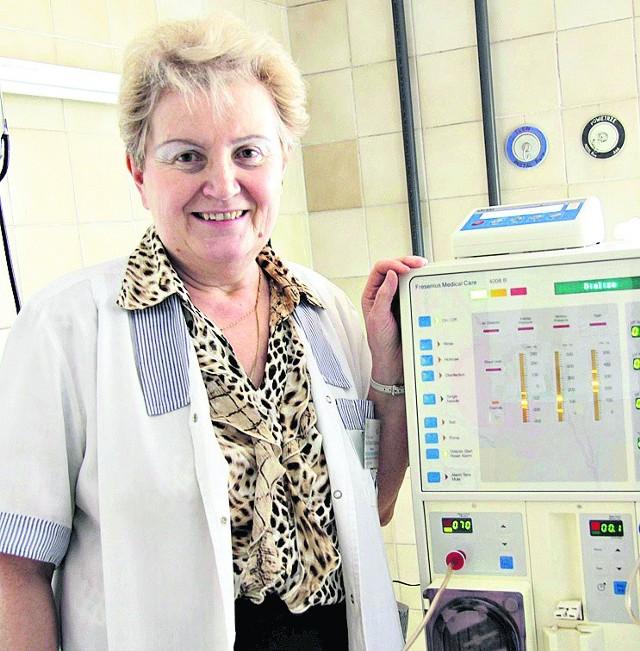 Prof. Maria Małgorzata Zajączkowska - nefrolog w DSK