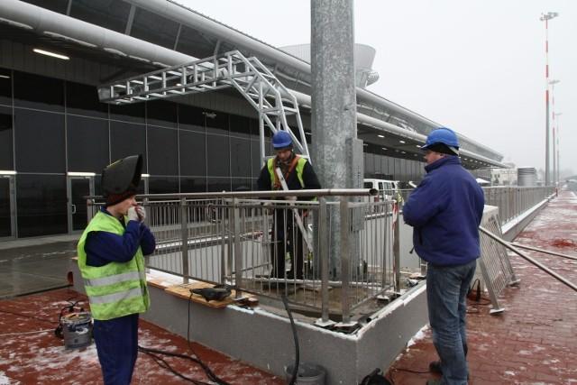 Terminal ma powierzchnię 26,5 tys. mkw. To 4 kondygnacje.