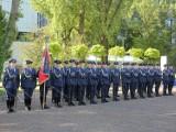 Święto Policji w tym roku skromniejsze niż zwykle. Powodem pandemia. Nie zabrakło awansów i odznaczeń