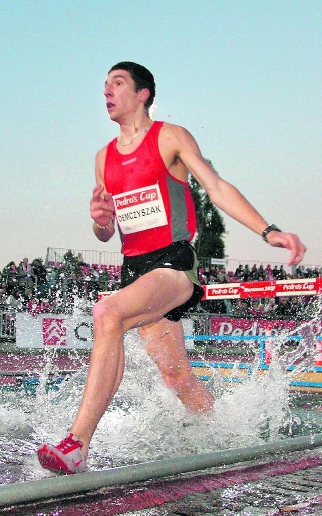 Mateusz Demczyszak biega też na 3000 m z przeszkodami