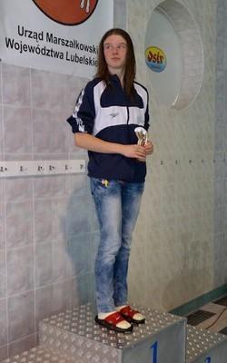Karolina Zygo (Olimpia Lublin) wywalczyła trzy brązowe medale podczas MP juniorów w Gliwicach