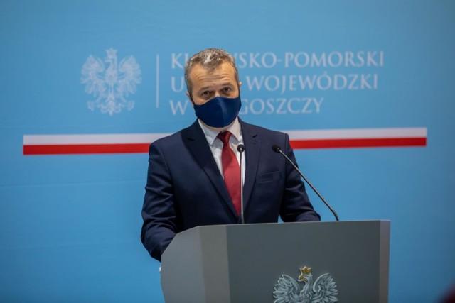 Wojewoda Mikołaj Bogdanowicz będzie przebywał w izolacji domowej do 3 stycznia 2021 roku