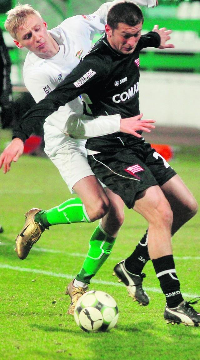Łukasz Mierzejewski tęskni za grą w piłkę