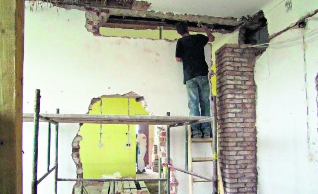 Prace remontowe trwają w przedszkolu od kilku tygodni i zakończą się  pod koniec sierpnia