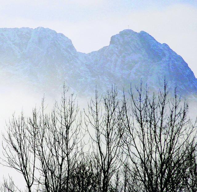 Alpiniści chcą nowych, zimowych dróg w ścianie Giewontu
