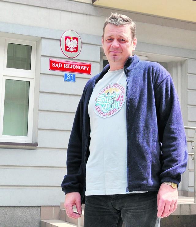 Mirosław Bercal z Zatora nie jest zadowolony z faktu, że oświęcimski sąd pracy zniknie