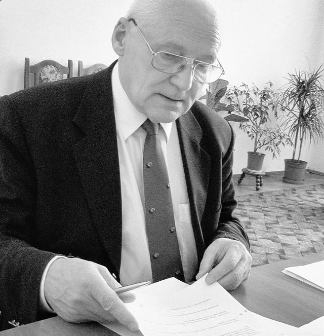 Długoletni prezydent Andrzej Telka zmarł 1 czerwca