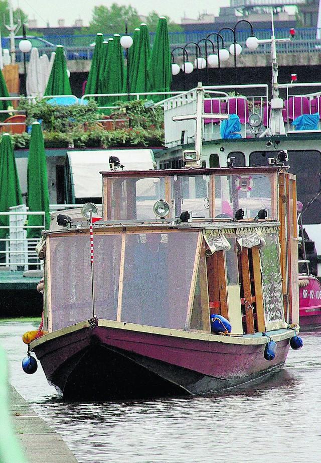 Właściciele tramwajów wodnych chcą pieniędzy od miasta
