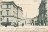 Racibórz z dawnych lat - ulica Nowa przy rynku