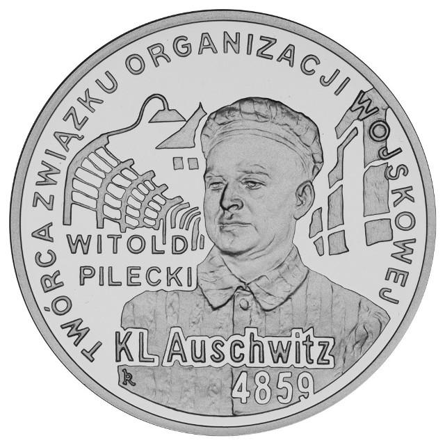 Rotmistrz Pilecki trafił na rocznicową monetę