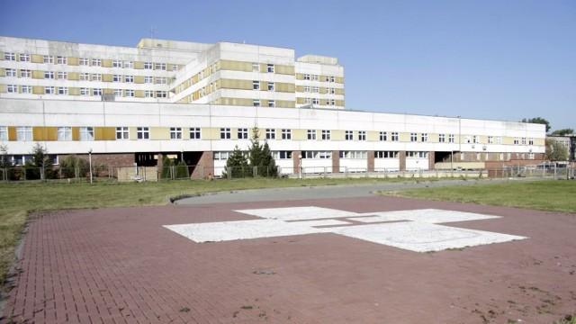 Lądowisko obok DSK przy ul. Chodźki w Lublinie