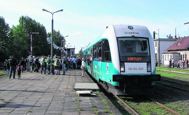 Budowa linii Wrzeszcz - Rębiechowo umożliwi wznowienie przewozów pasażerskich do Kartuz.