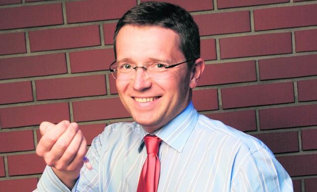 Jacek Szwajcowski, prezes Polskiej Grupy Farmaceutycznej z Łodzi, menedżer roku 2008.