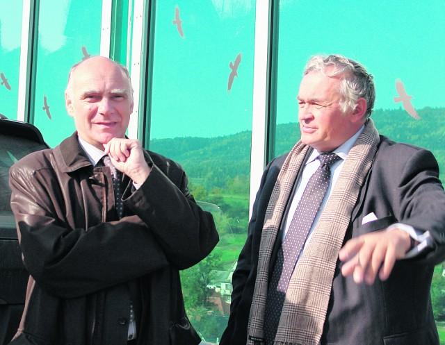 Prezes Wacław Makarski (z lewej) może być zadowolony