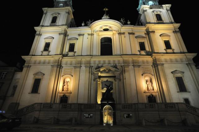 Krakowskie Przedmieście nocą. Wirtualny spacer przed wielką iluminacją [ZDJĘCIA]
