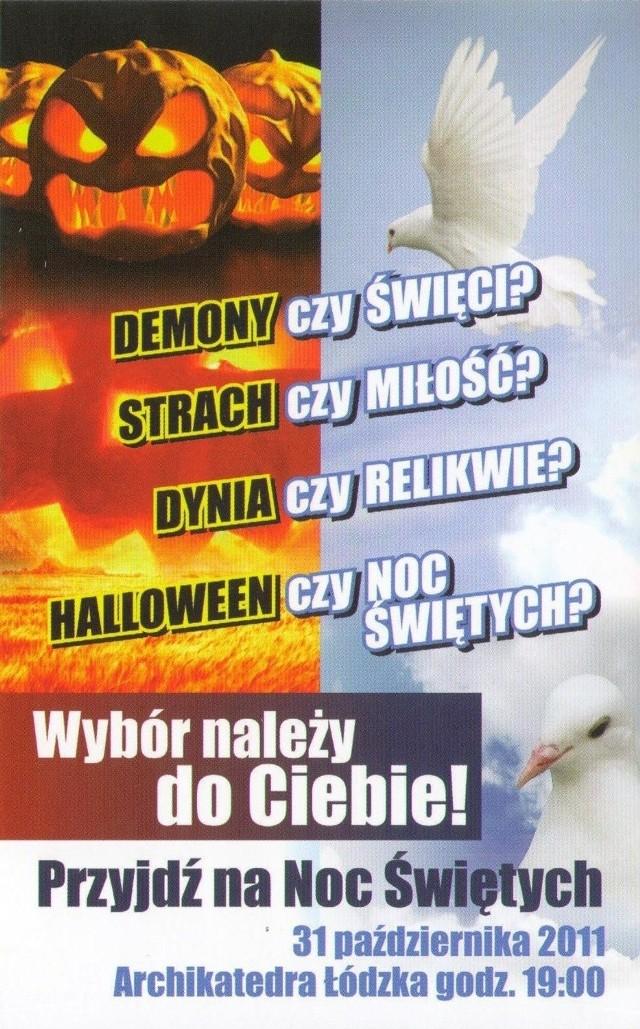 Łódzka Noc Świętych ma stać się alternatywą dla Halloween.