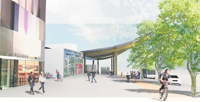 Plany pozwalają na stworzenie w ramach węzła Karwiny obiektu handlowego o powierzchni do 2 tys. m kw.