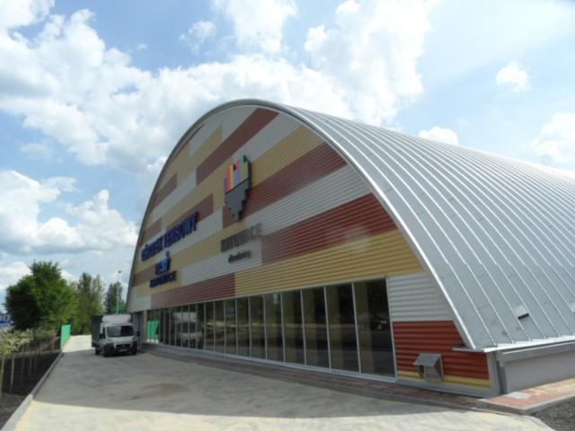 Hala tenisowa przy Szopienickiej w Katowicach