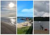 Plaże w powiecie wejherowskim. Nad wodą możemy wypocząć w Lubiatowie, Bieszkowicach, Nadolu, czy Kamieniu