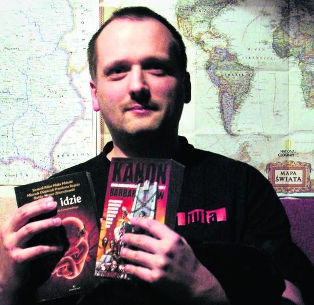 Jewgienij T. Olejniczak w swojej kolejnej książce wykorzysta legendę czakramu