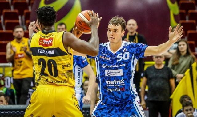 Trefl Sopot - Polpharma Starogard Gdański to były zacięte derby Pomorza w koszykówce