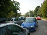 Strefy parkowania w Krakowie: stają na zakręcie przy Rollego, bo tam jest za darmo