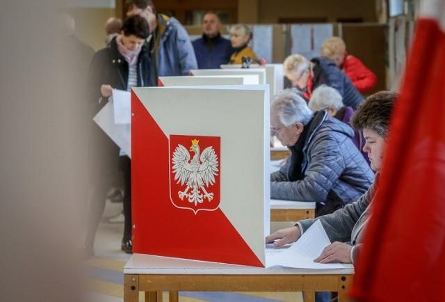 Wybory samorządowe 2018. Głosowanie w Trójmieście.