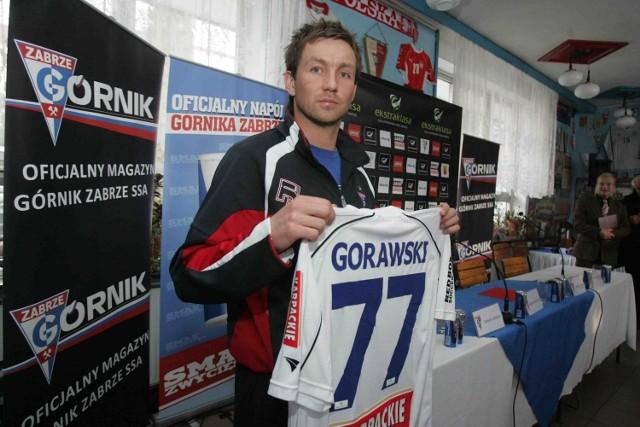 Wychowanek Ruchu Damian Gorawski zagra jutro w Górniku