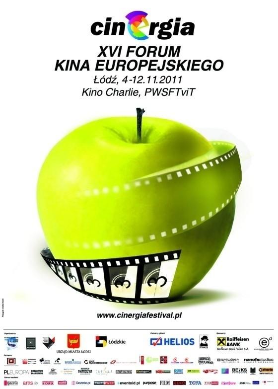"""Logo XVI Forum Kina Europejskiego """"Cinergia"""""""