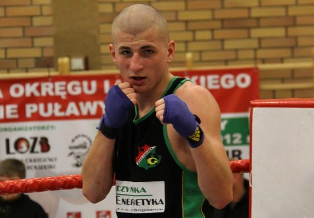 Michał Smerdel (Gwarek Łęczna) ma już zapewniony co najmniej brązowy medal