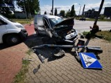 Wypadek na skrzyżowaniu ulicy Polnej z Chrobrego. Cztery osoby w szpitalu! [ZDJĘCIA]