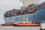 Kontenerowiec Eleonora Maersk w Gdańsku (ZDJĘCIA)