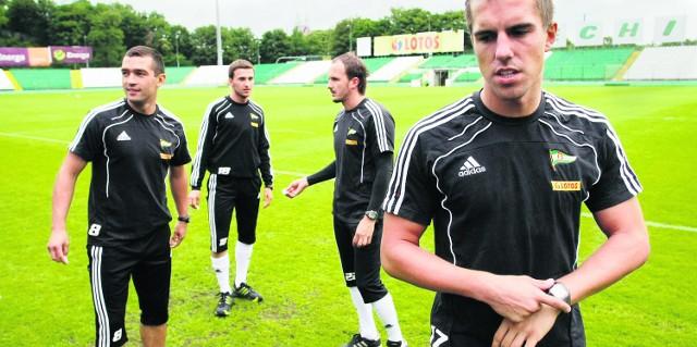 Piłkarze gdańskiej Lechii mają w tym sezonie duże pieniądze do wywalczenia na boisku