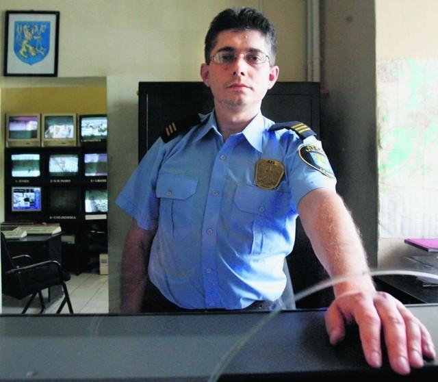 Krzysztof Wierzbicki walczy o podwyżki dla strażników