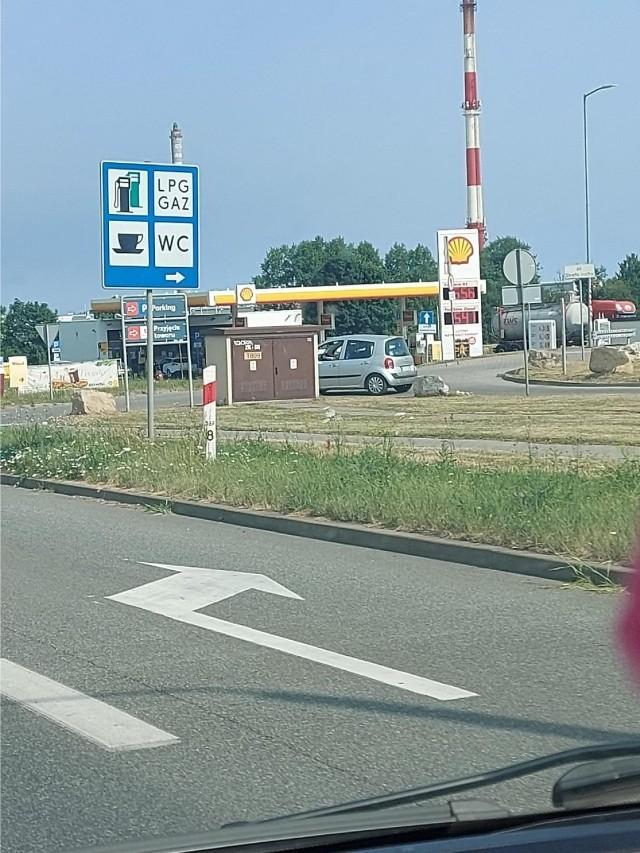Tarnowskie Góry, Shell, ul. Zagórska