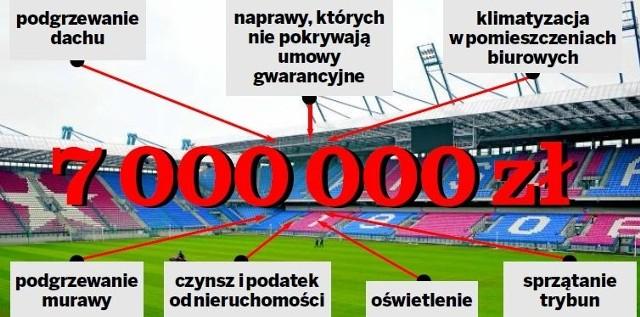 Miasto wybudowało stadion i oddało go Wiśle, która nie jest jednak w stanie pokryć wielkich kosztów utrzymania obiektu
