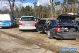Z Głogowa pojechali kraść katalizatory do Lubina. Policjantom mówili, że naprawiają auto