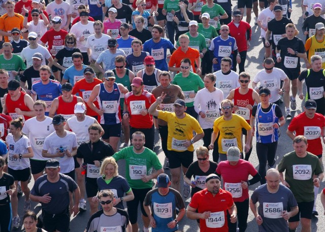 Swój udział w 12. Poznań Maratonie zgłosiło już ponad 5 tys. osób
